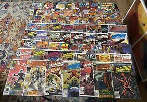 Collection 63 Comics Books Daredevil (Frank Miller) Fallen Angels, Marvel UK Etc