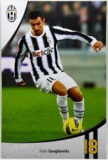 Cartoncino Juventus Stagione 2011/12 - Fabio Quagliarella
