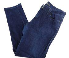 Levis Womens Size 16M Blue Jeans Narrow Leg Pants Stretch Mid Rise Skinny
