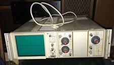 Vintage Tektronix D11 Oscilloscope 5a18n Amplifier 5b10n Timebase Amplifier