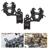 ATV Gun Rack Shotgun Bow Holder Single Grip Rifle Pole Mount Automotive Grips