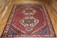 OLD WOOL HAND MADE PERSIAN  ORIENTAL FLORAL RUNNER AREA RUG CARPET 305X 210CM