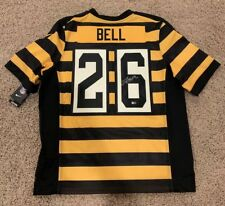 886fff9c3 Le'Veon Bell New York Jets Steelers Autographed Authentic Fanatics Jersey  $600