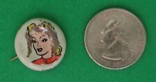 Kellogg's Pep Pin Cindy 1946 Comic Strip Series Famous Artists Syn B