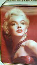 Framed Marilyn Monroe 3D pictures  HD picture 30x40cm New lot 1