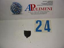 130825 TAPPO GANCIO TRAINO (STOPPER) PARAURTI POSTERIORE FIAT 500 07> CROMATO