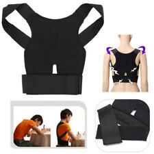 Adjustable Posture Full Back Shoulder Corrector Support Lumbar Waist Brace Belt