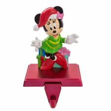 Disney MINNIE MOUSE Christmas Stocking Hanger w/ Retractable Hook by Kurt Adler