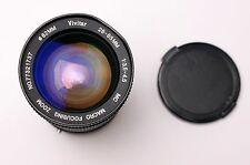 Vivitar 28-85mm f3.5-4.5 MC Macro Focusing Zoom Lens & Caps Canon FD READ (2101)