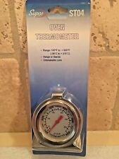 Thermometer Oven 100 To 600 F Amp 50 To 300 C Taylor Home 3506 Oven Safe