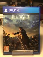 Final Fantasy 15 (XV) PS4 PlayStation 4 Day One Edition. Excellent. Codes Unused