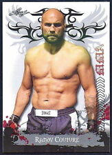 RANDY COUTURE 2010 LEAF UFC/MMA TRADING CARD! THE NATURAL! UFC HALL OF FAME!