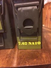 Vinyl Ammo Can Markers/label 7.62 NATO / 308  30 cal or 50 cal ammo can