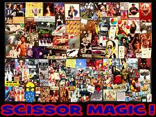 Mr. Glenn's Scissor Magic! Art Ephemera Lot #9: 100+ Legend Clippings & More.