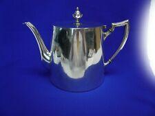 Art Krupp Berndorf. Silver Plate Teapot 150cl  1930's Art Deco Motif