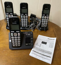 Panasonic KX-TGE430 Cordless Telephones with Digital Answering Machine 4 Handset