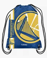 NBA Golden State Warriors Drawstring Backpack Gym Bag