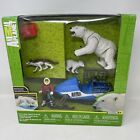 Toys R Us Exclusive Animal Planet Polar Bear Rescue Playset New Missing 2 Pieves