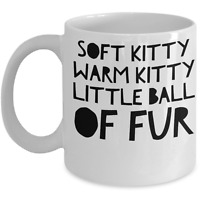 Big Bang Theory Mug Gift For Big Fan Soft Kitty Song Coffee Mug Funny Coffee Cup