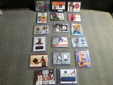 Game Worn Jersey Relic Basketball Card Lot 17 Cards (Sp) - Rookies