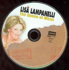 Lisa Lampanelli Comedy Stand-Up DVD Queen Of Mean NO CASE