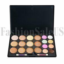 Kit de contorno de la cara de 20 Colores Maquillaje Crema Corrector Paleta Resaltador Con Pincel