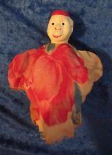 VINTAGE CHILDREN'S PAPER MACHE HAND PUPPET MONKEY  JAPAN