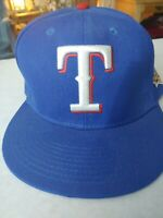 World Series 2010 Texas Rangers Fitted Field Cap Authentic. New Era size 7 3/8