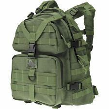 Green Outdoor Condor-II Tactical Backpack, Mens Molle Military Camp Hunt Day Bag