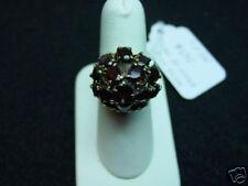 14k Gold Large 18 Garnets over 10 carats of garnets