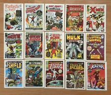 Marvel Vintage Original (1984) Trading Cards - Complete Set of 60 MINT