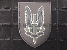 SAS WINGED DAGGER VELCRO PVC PATCH - Who Dares Wins Tactical Morale Army Badge