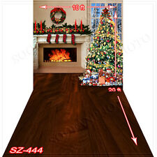 Christmas 10'x20' Computer-painted (CP)Scenic Vinyl Background Backdrop SZ444B88