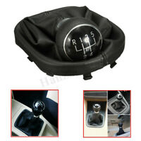 5 Speed Gear Shift Stick Knob Gaiter Boot Cover For VW Caddy MK2 Touran