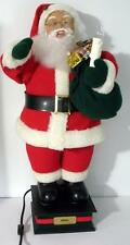 """24"""" Holiday Creations Animated Santa Claus Holiday Figure With Box- Watch Video"""