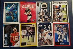 2020 Score Football Inserts Parallels Yellow Red You Pick Mahomes Brady Kyler