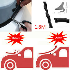 1.8M Black Car Front Windshield Deflector Spoiler Rubber Protector Seal Strips