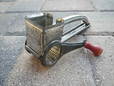 Vintage Mouli Rotary Grater, Kitchen Collectible~Red Handle