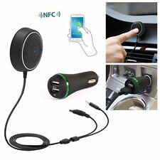 Sans fil bluetooth musique récepteur adaptateur 4.0 voiture stéréo mains-libres