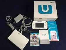 Nintendo Wii U Basic Set 8GB. Tested and Working. With Fifa Soccer 13