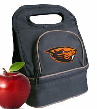 Oregon State Lunch Bag Lunchbox OSU Beavers Cooler Bags TWO COMPARTMENTS!