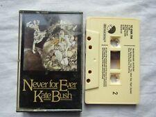 CASSETTE KATE BUSH NEVER FOR EVER emitc ema 794