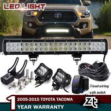 "20"" Led Light Bar For 2016-2018 Toyota Tacoma Front Bull Bar Bumper Grill Guard"