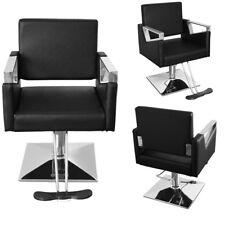 Swiveling Hydraulic Barber Chair Swivel Salon Tattoo Hairdressing Shaving Chairs