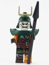 Lego 2016 ninjago The green NRG dragon 70593 doubloon minifigure with weapon