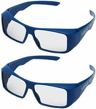 Handsun Super Clear IMAX 3D Glasses for 3D IMAX Movie,Cinema and Theater (Blue)
