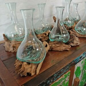 Bali Glass Carafe / Slump Glass