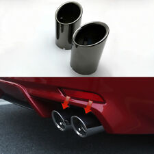 2P For Toyota Camry XV70 2018 SE XSE Rear Tail End Tip Pipe Dual Exhaust Muffler