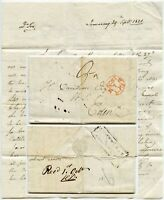 1821 LETTER INVERARY COLIN CAMPBELL to DAVIDSON re TENANT FARMING + CAPT.NORMAN