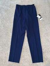 NWT Women's Ehl Younkers Blue Casual Pants Size 10